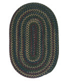 RugStudio presents Colonial Mills Midnight Mn77 Deep Forest Braided Area Rug