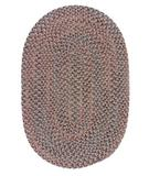 RugStudio presents Colonial Mills Midnight MN96 Mocha Braided Area Rug