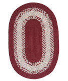 RugStudio presents Colonial Mills North Ridge Ng79 Berry Braided Area Rug