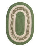 RugStudio presents Colonial Mills Crescent Nt61 Moss Green Braided Area Rug