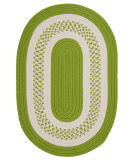 RugStudio presents Colonial Mills Crescent Nt62 Bright Green Braided Area Rug