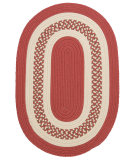 RugStudio presents Colonial Mills Crescent Nt71 Terracotta Braided Area Rug