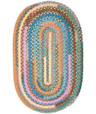 RugStudio presents Colonial Mills Olivera OV19 Dusty Shale Braided Area Rug