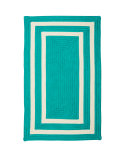 RugStudio presents Colonial Mills Pacific Pf51 Aqua Braided Area Rug