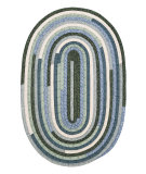 RugStudio presents Colonial Mills Quilter's Choice Qc20 Seafoam Braided Area Rug