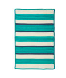 RugStudio presents Colonial Mills Republic Rp41 Aqua Braided Area Rug