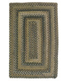 RugStudio presents Colonial Mills Ridgevale RV60 Grecian Green Braided Area Rug