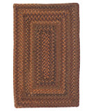 RugStudio presents Colonial Mills Ridgevale RV70 Audobon Russet Braided Area Rug