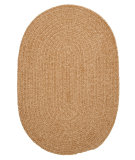 RugStudio presents Colonial Mills Spring Meadow S302 Buff Braided Area Rug