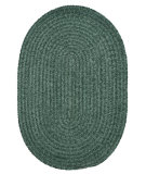 RugStudio presents Colonial Mills Spring Meadow S602 Myrtle Green Braided Area Rug
