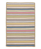 RugStudio presents Colonial Mills Bright Stripe Se81 Beach Front Braided Area Rug