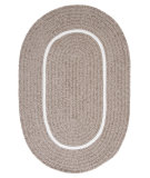 RugStudio presents Colonial Mills Silhouette Sl45 Stone Braided Area Rug