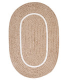 RugStudio presents Colonial Mills Silhouette Sl85 Sand Braided Area Rug