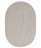 RugStudio presents Colonial Mills Tremont Te19 Gray Braided Area Rug