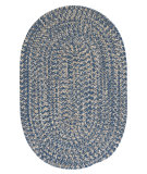 RugStudio presents Colonial Mills Tremont Te59 Denim Braided Area Rug
