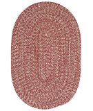 RugStudio presents Colonial Mills Tremont Te79 Rosewood Braided Area Rug