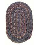 RugStudio presents Colonial Mills Twilight TL40 Lavender Braided Area Rug