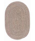 RugStudio presents Colonial Mills Twilight TL90 Oatmeal Braided Area Rug