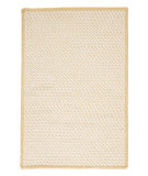 RugStudio presents Colonial Mills Twisted Tw39 Lemon Braided Area Rug