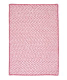 RugStudio presents Colonial Mills Twisted Tw79 Pinkest Pink Braided Area Rug