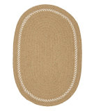 RugStudio presents Colonial Mills Twist & Shout Rug Tc83 Sand Braided Area Rug