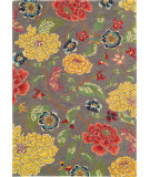 RugStudio presents Company C Mandarin 18410 Pewter Hand-Tufted, Good Quality Area Rug