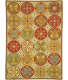 RugStudio presents Company C Stepping Stones 18191 Spice Hand-Hooked Area Rug