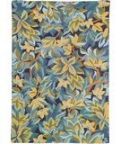 RugStudio presents Company C Avalon 18232 Indgo Hand-Hooked Area Rug