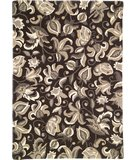RugStudio presents Company C Wentworth Floral 18336 Charcoal Hand-Tufted, Good Quality Area Rug