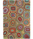RugStudio presents Company C River Bend 18470 Multi Hand-Hooked Area Rug