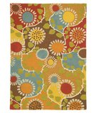 RugStudio presents Company C Rise And Shine 18619 Marigold Hand-Hooked Area Rug