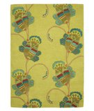 RugStudio presents Company C Trumpet Vine 18655 Willow Hand-Tufted, Good Quality Area Rug