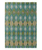 RugStudio presents Rugstudio Sample Sale 52026R Peacock Hand-Tufted, Good Quality Area Rug
