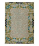 RugStudio presents Company C Tiffany 18693 Peacock Hand-Tufted, Good Quality Area Rug
