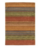 RugStudio presents Company C Brushstroke 18695 Multi Woven Area Rug