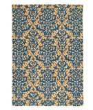 RugStudio presents Company C Serengeti 18742 Blue Hand-Hooked Area Rug