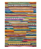 RugStudio presents Rugstudio Sample Sale 52142R Periwinkle Hand-Hooked Area Rug