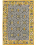 RugStudio presents Company C Pirouette 18864 Pewter Hand-Tufted, Good Quality Area Rug