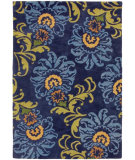 RugStudio presents Rugstudio Sample Sale 52218R Blue Iris Hand-Tufted, Good Quality Area Rug