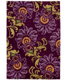 RugStudio presents Company C Luciana 18866 Plum Hand-Tufted, Good Quality Area Rug