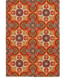 RugStudio presents Rugstudio Sample Sale 52222R Vermillion Hand-Hooked Area Rug