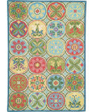 RugStudio presents Company C Stepping Stones 18191 Multi Hand-Hooked Area Rug