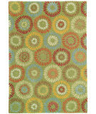 RugStudio presents Company C Dandelion 18234 Green Hand-Tufted, Good Quality Area Rug