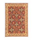 RugStudio presents Company C Iznik 18236 Brown Hand-Tufted, Good Quality Area Rug