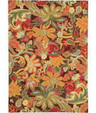 RugStudio presents Company C Tapestry 18239 Spice Hand-Hooked Area Rug