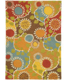 RugStudio presents Company C Rise And Shine 18619 Marigold Hand-Tufted, Good Quality Area Rug