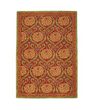 RugStudio presents Company C Zinnia 18654 Poppy Hand-Tufted, Good Quality Area Rug