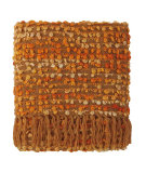 RugStudio presents Company C Park Throw 18790 Tangerine Area Rug