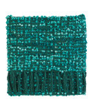 RugStudio presents Company C Park Throw 18790 Teal Woven Area Rug