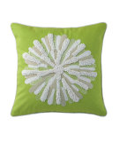 RugStudio presents Company C Asters Pillow Lime